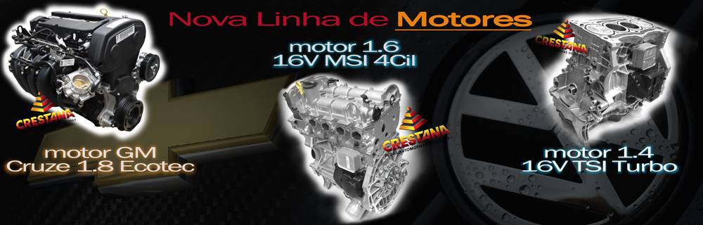 Motores GM e VW