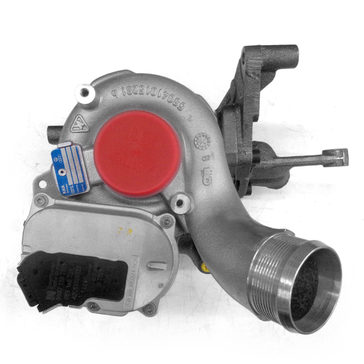 Turbo Compressor Kkk - Turbinas - Unidade - vw - Touareg