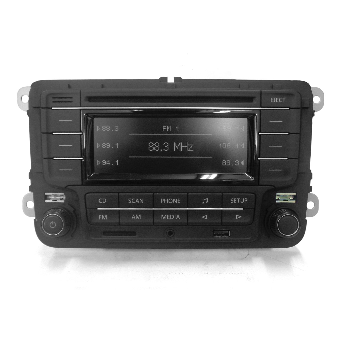 Auto Rádio Com Cd Player Mp3 / Cartão Sd / Usb / Bluetooth -