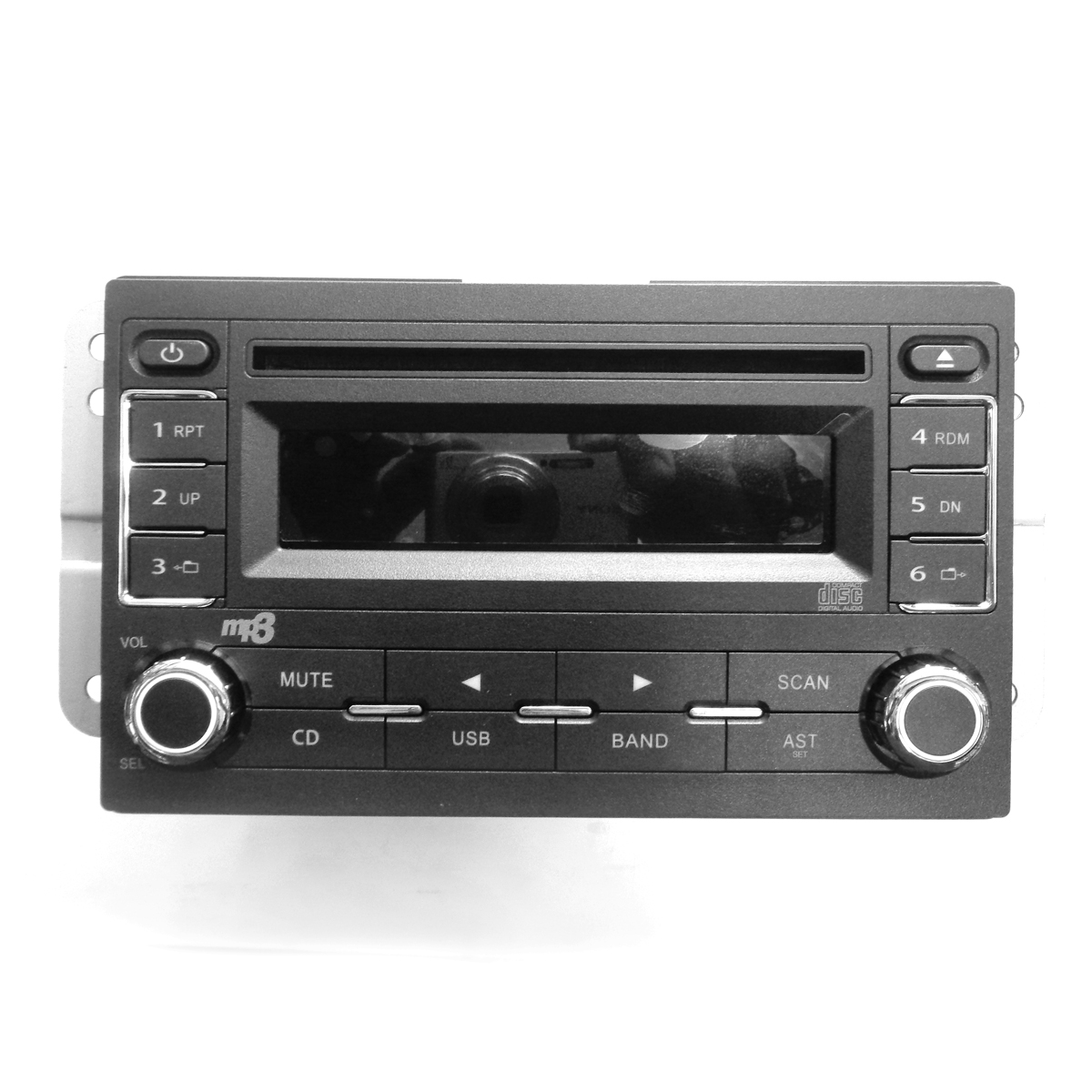 Auto Rádio Com Fm/am / Cd Player Mp3 - Painéis, Velocímetros