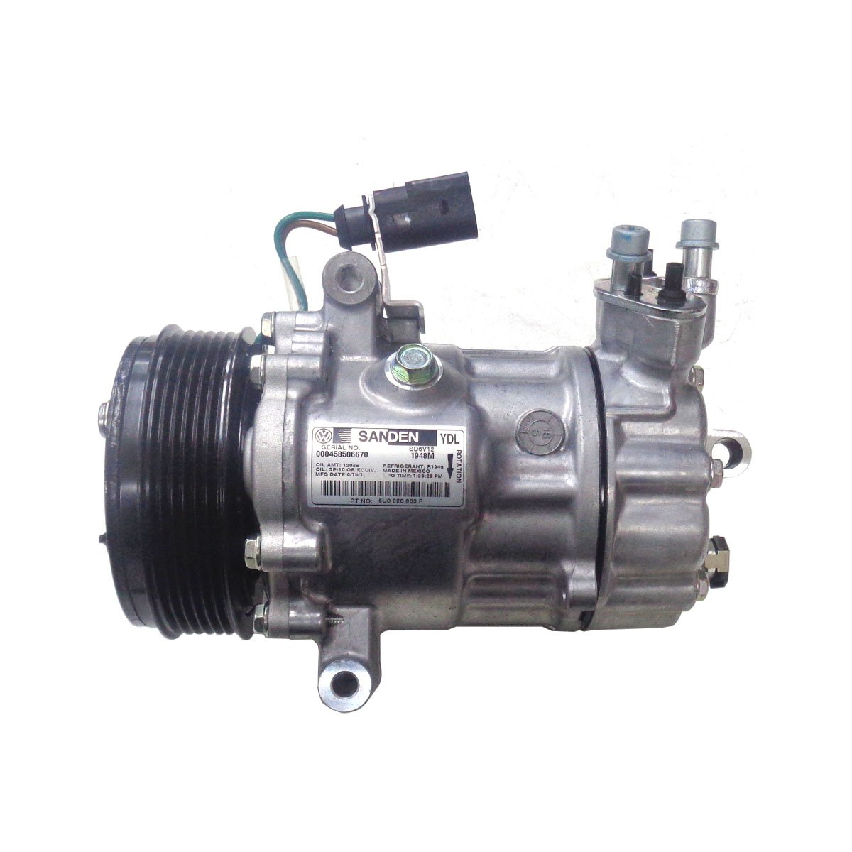 Compressor do Ar Condicionado Vw 1.6